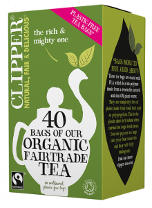 Herbata czarna FAIR TRADE BIO 116 g (40 x 2,9 g) Clipper