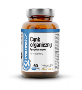 Cynk 60 kapsułek 19,2g - Pharmovit (clean label)