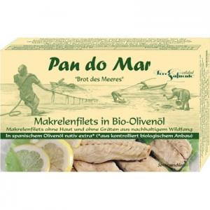 Makrela w bio oliwie z oliwek 120g Pan do Mar