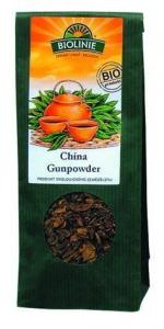 Herbata China Gunpowder BIO 50g Biolinie