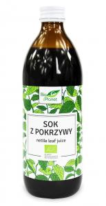 Sok z pokrzywy BIO 500 ml Bio Planet