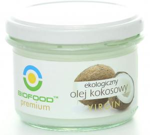 Olej kokosowy virgin BIO 180ml Bio Food