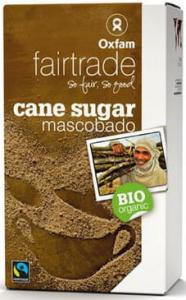 Cukier mascobado Filipiny FAIR TRADE BIO 1kg Oxfam