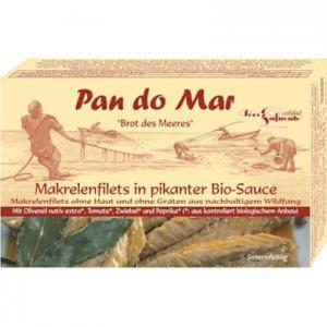 Makrela w BIO pikantnym sosie 120g Pan do Mar