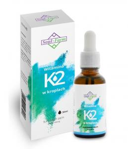 Witamina K2 w kroplach (100mcg) 30ml Soul Farm