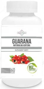 Guarana ekstrakt 500mg 60 KAPS  Soul Farm